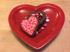 Heart cookie box for treats!